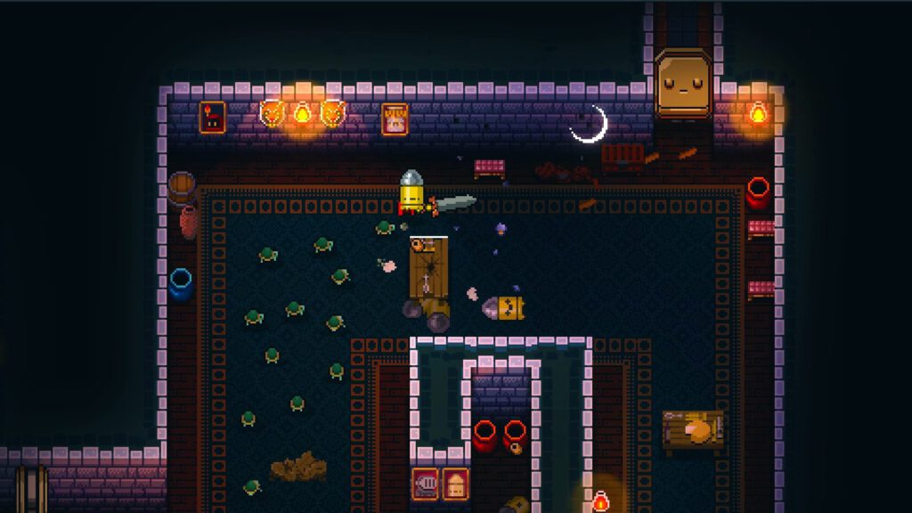 Enter the Gungeon iOS Gameplay