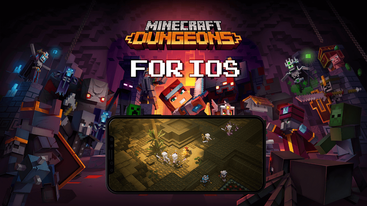 Minecraft Dungeons IPA Download For IOS