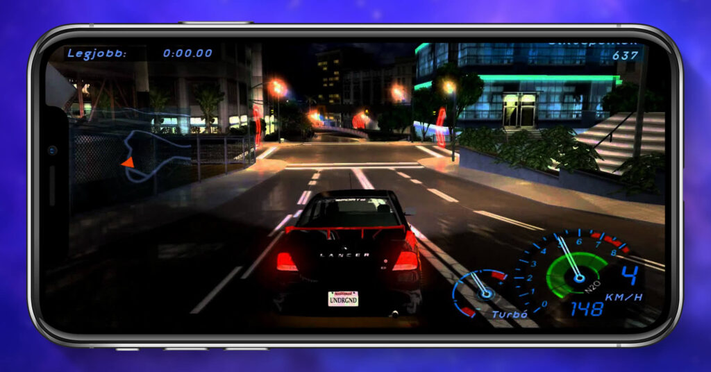 Need for Speed Underground 2 iOS Screenshot