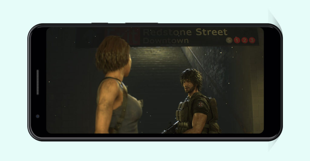 Resident Evil 3 Android Screenshot