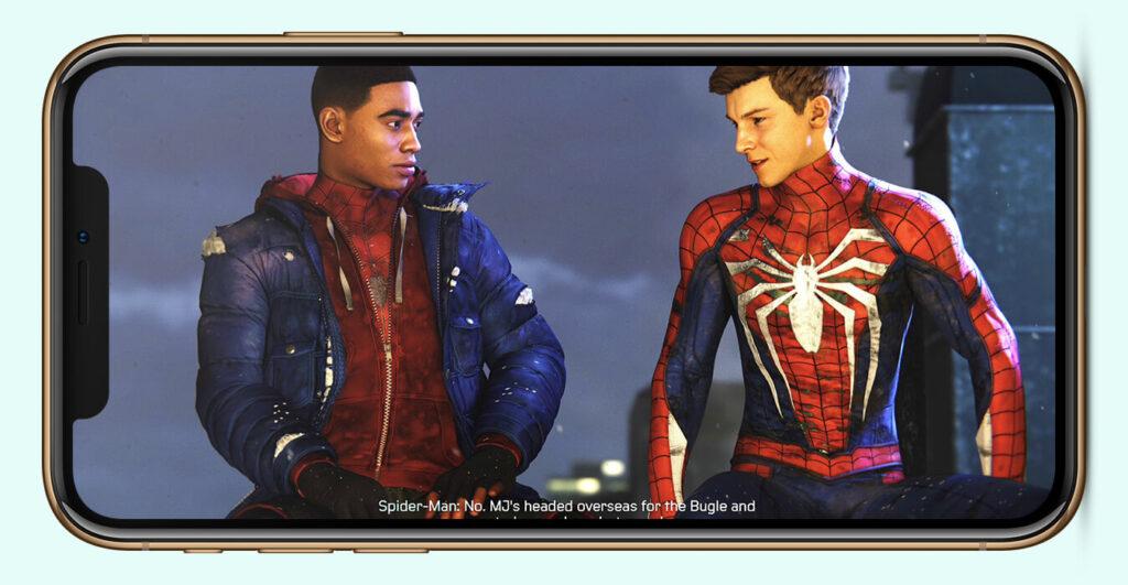 Spider-Man: Miles Morales iOS Screenshot